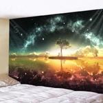 tenture arbre étoiles rêve