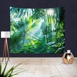 tapisserie murale plantes tropiques
