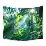 tenture murale nature jungle