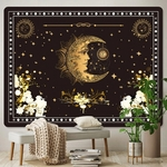 tenture décorative demi-lune espace