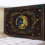 tenture murale zen demi-lune