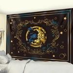 tenture murale décorative lune