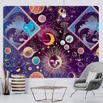 tenture murale décorative espace soleil