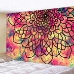 tapisserie murale zen mandala fleur