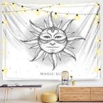 tenture murale grand soleil