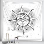 tenture murale décorative soleil