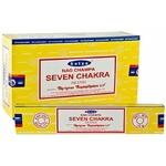 bâtons encens indien sept chakras