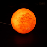 lampe de sel zen sphérique