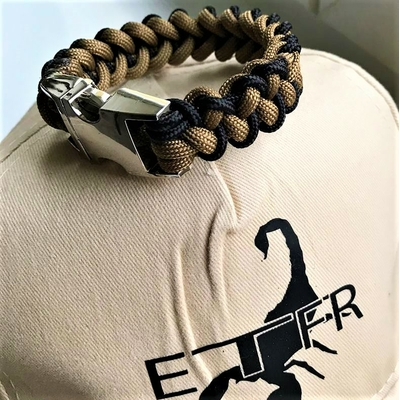 Paracord Piranha ETFr Official Wristband