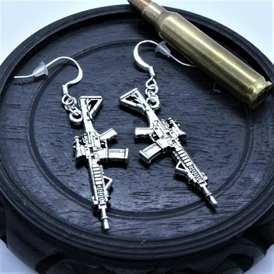 AR 15 earrings