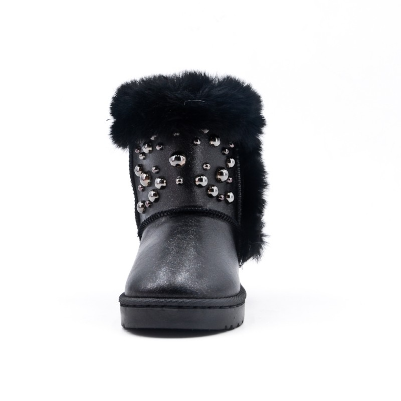 BOTTINES FOUREES NOIRES PERLES.jpg 2