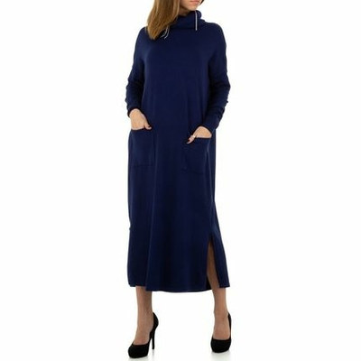 Robe pull col roulé  oversize