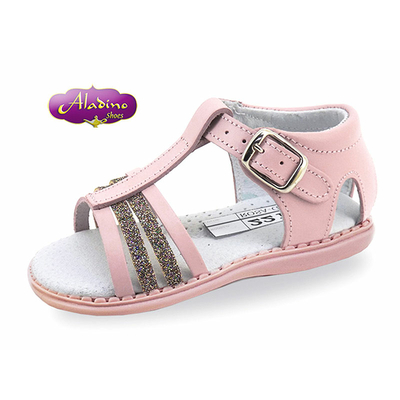 Sandales en cuir premier pas