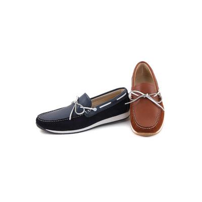Chaussures bateaux en cuir