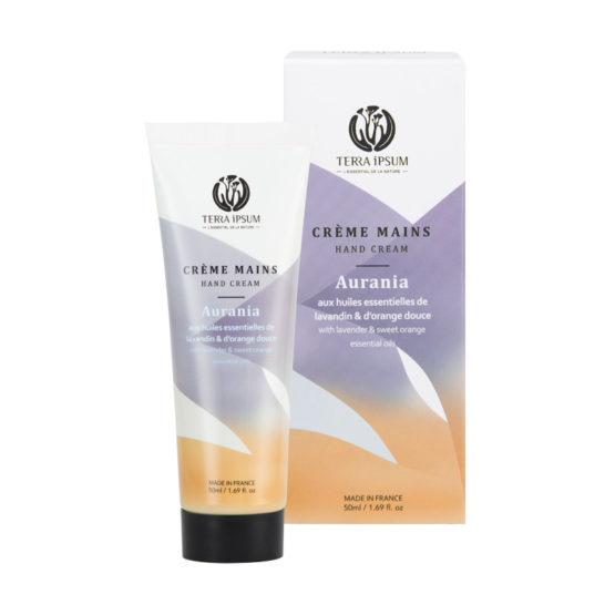 CRÈME MAINS PROTECTRICE  LAVANDIN / ORANGE