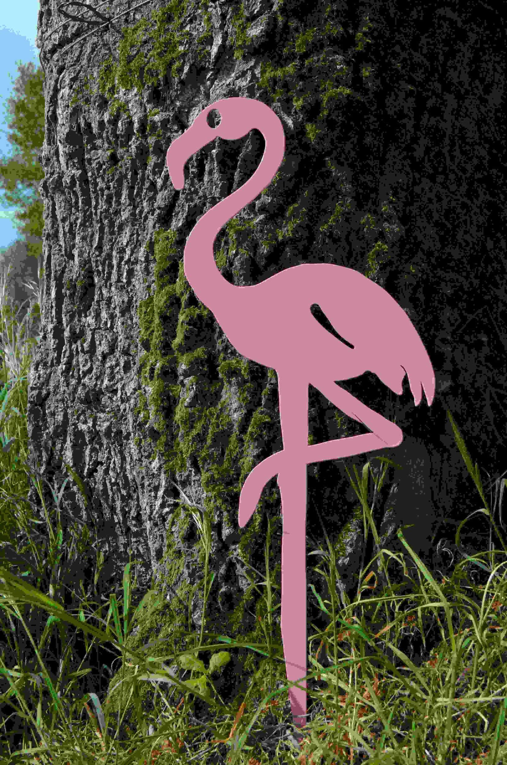 Flamant rose LADY PINK