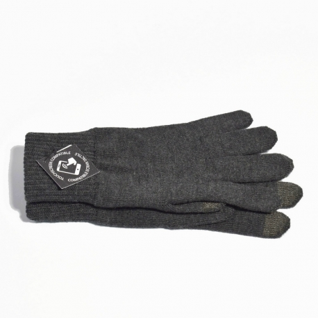Gants tactiles Anthracite Homme