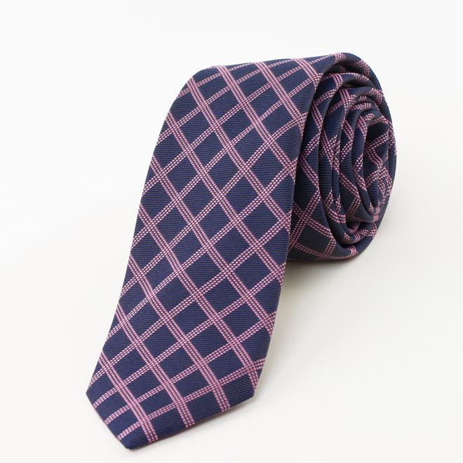 Cravate en soie L\'Ipomée pourpre