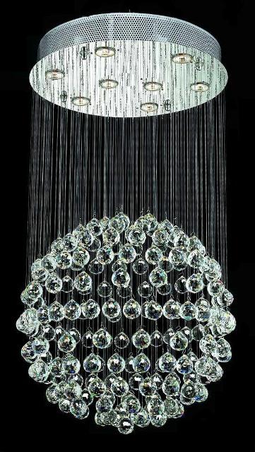 Lustre en Cristal sphère