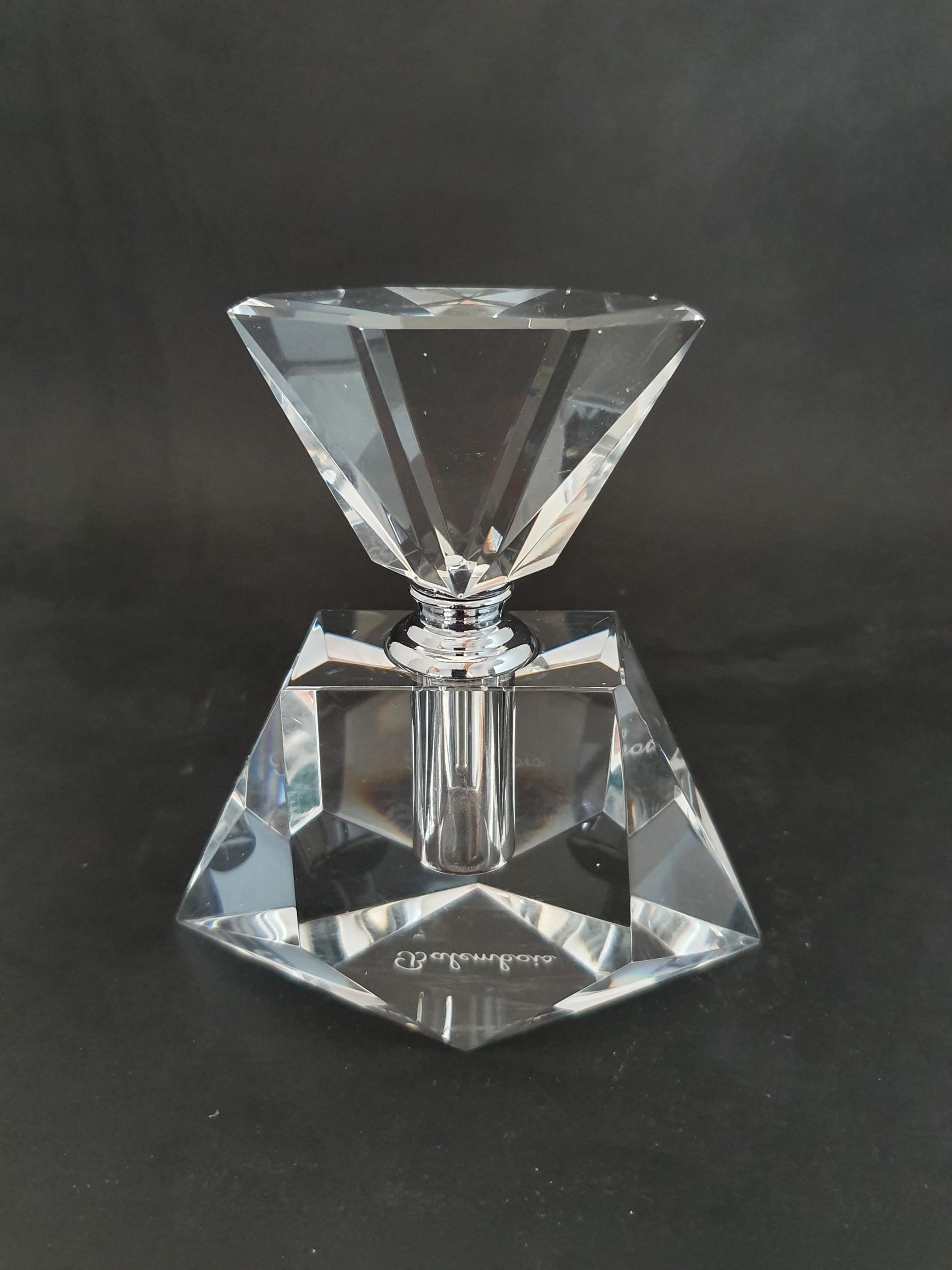 Flacon à parfum en cristal