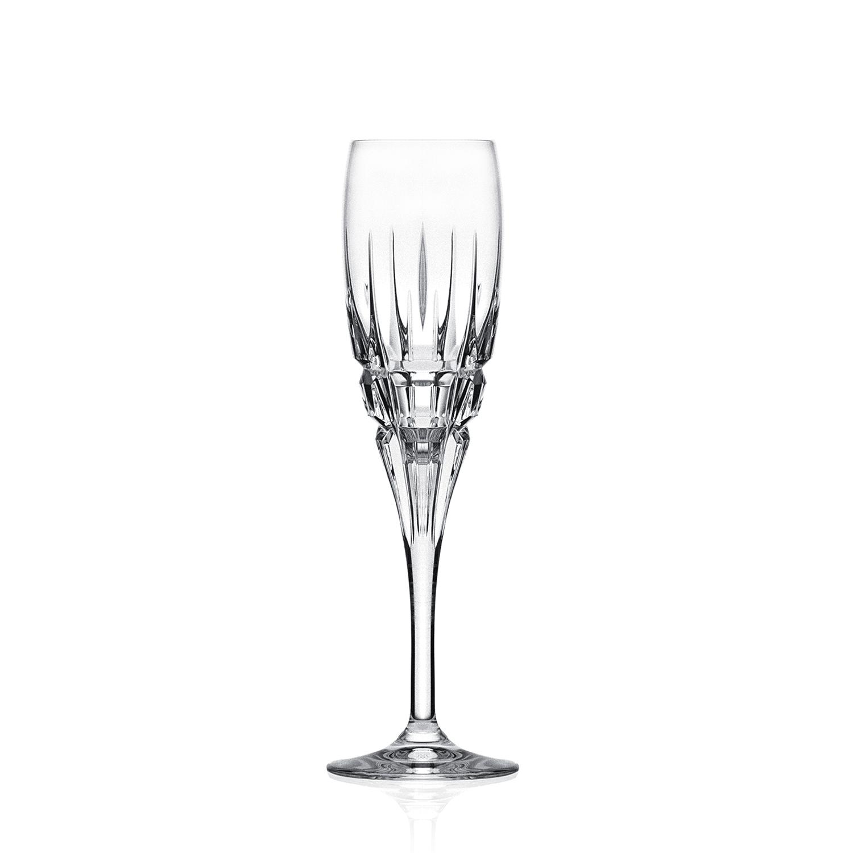 2 Flûtes à Champagne en cristal Carrare