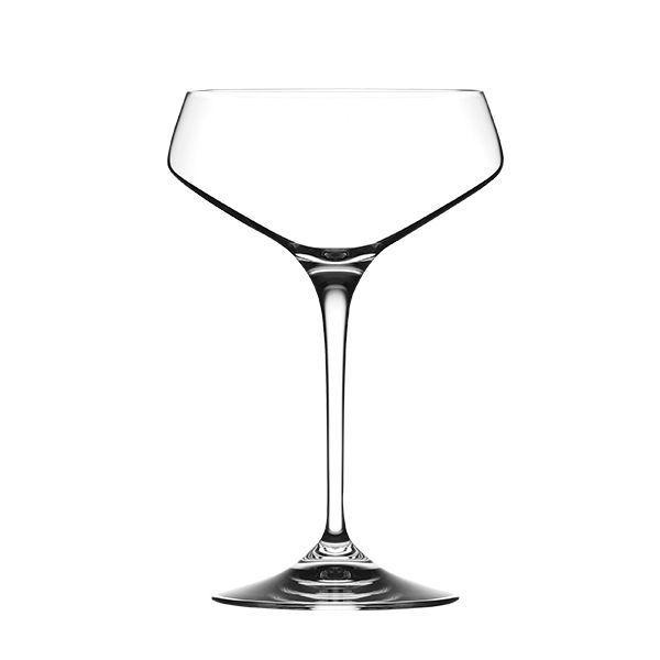 2 Coupes à Champagne en cristal Arie