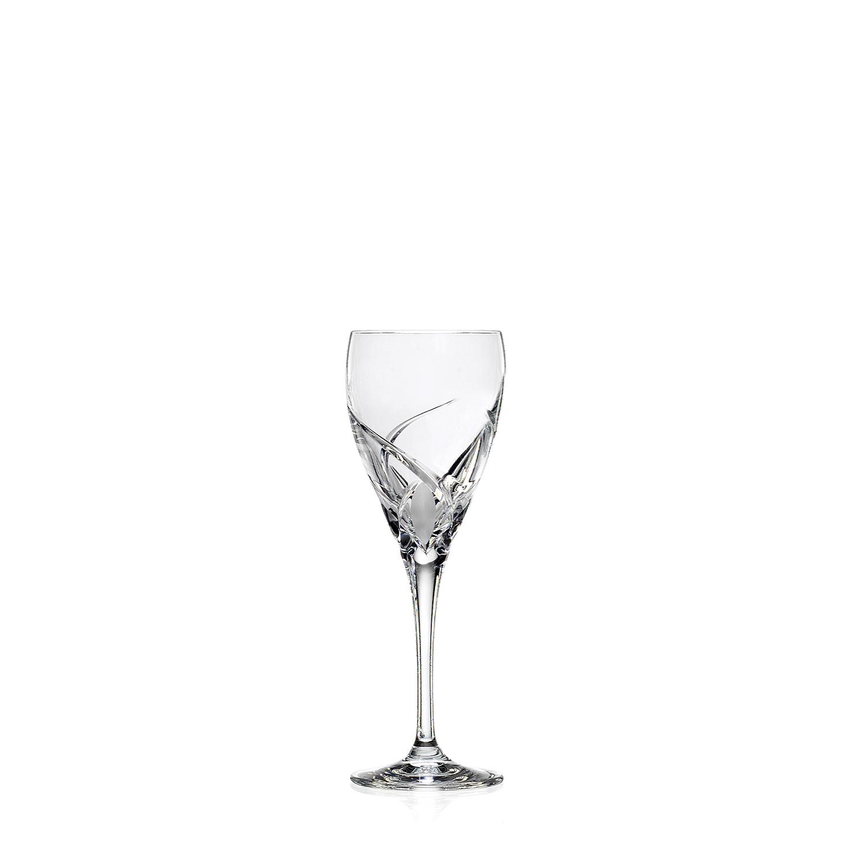 2 Verres à Eau en cristal taillé Grosseta