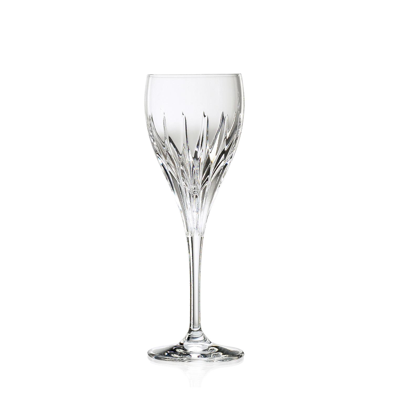 2 Verres à Vin en cristal Prate