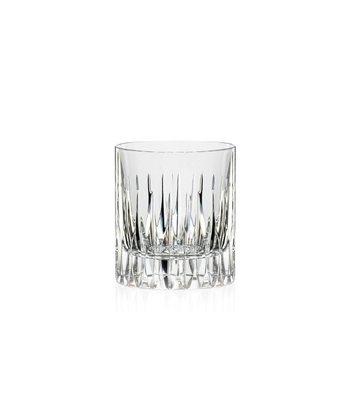 2 Verres à Whisky en cristal Prate