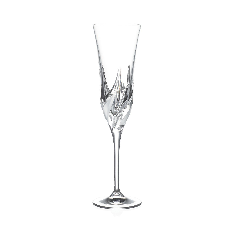 2 Flûtes à Champagne en cristal Cetone