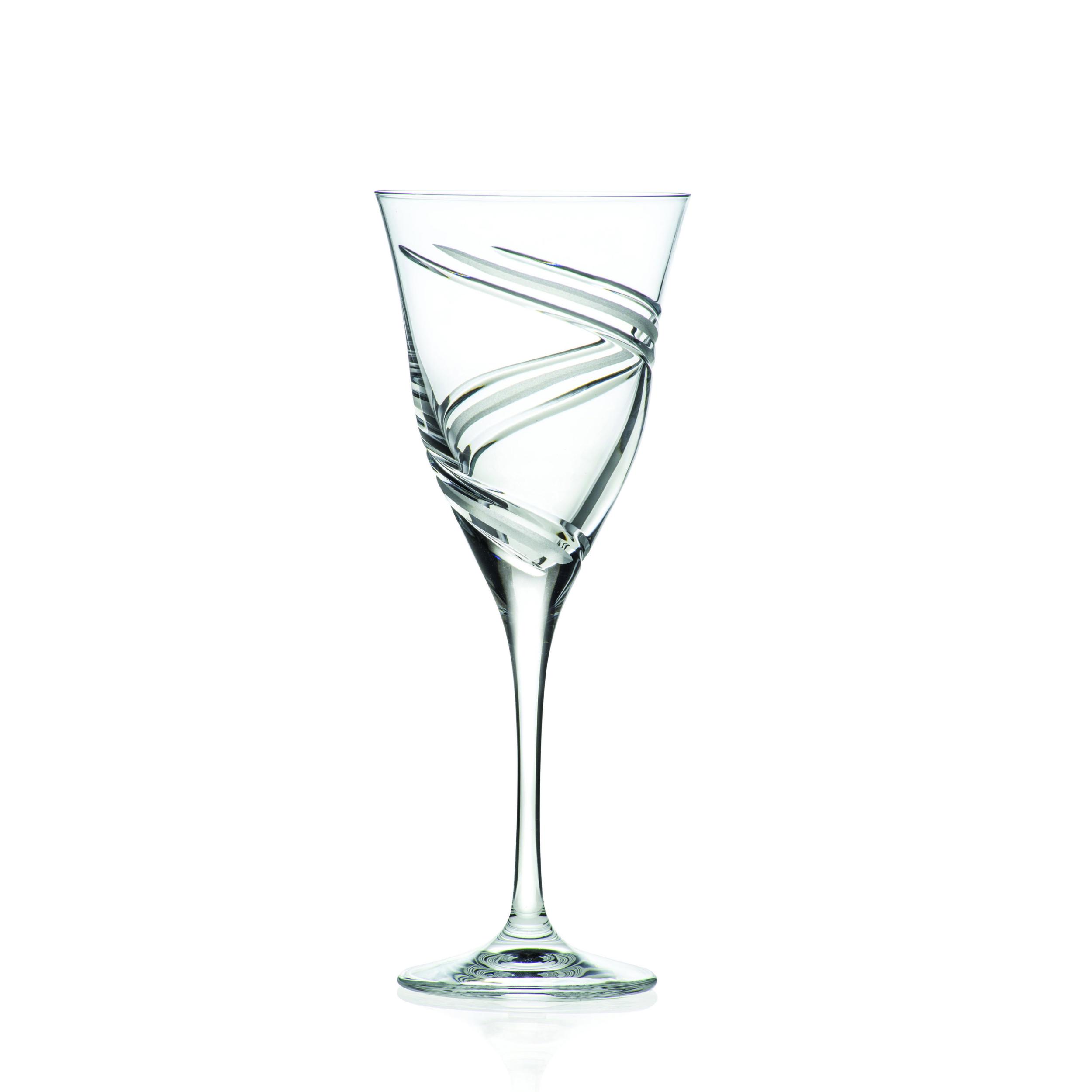 2 Verres à Vin en cristal Vertige