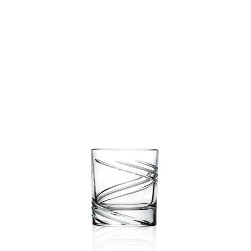 2 Verres à Whisky en cristal Vertige