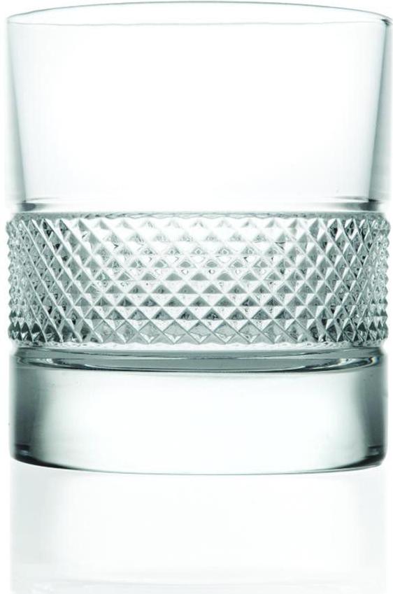 2 Verres à Whisky en cristal Fiesol