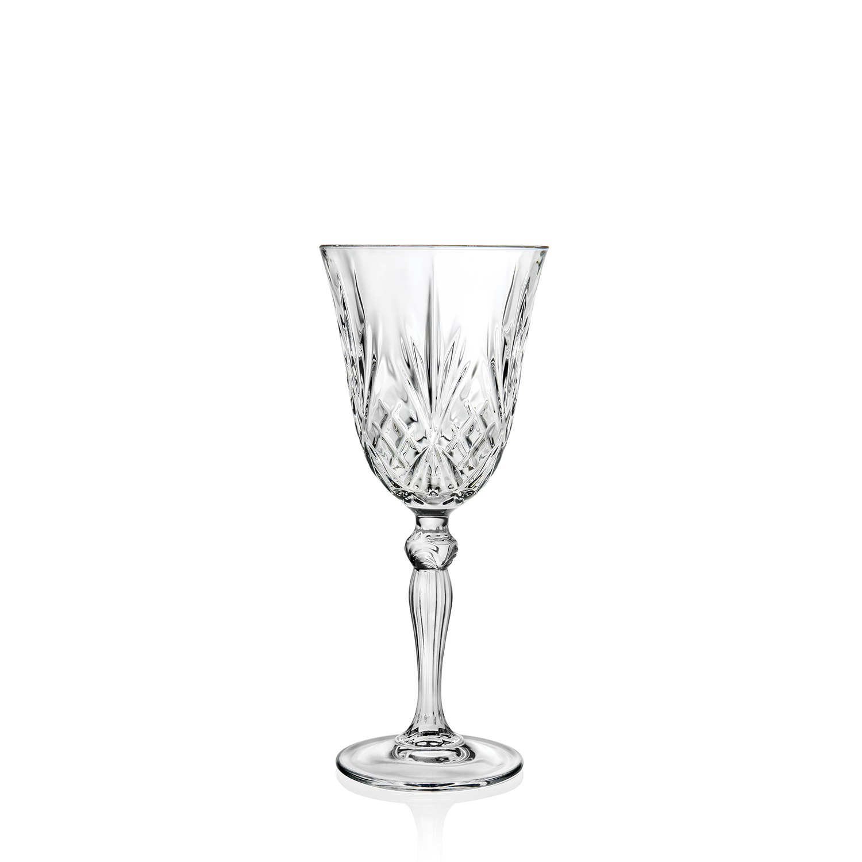 6 Verres à vin MELODIE