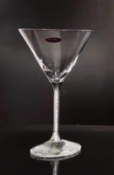 2 Verres à Cocktail pied Swarovski
