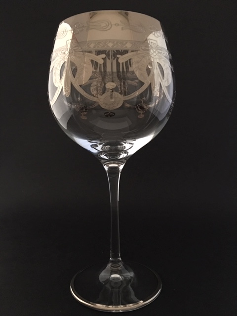 Verre à vin dégustation Napoléon platine