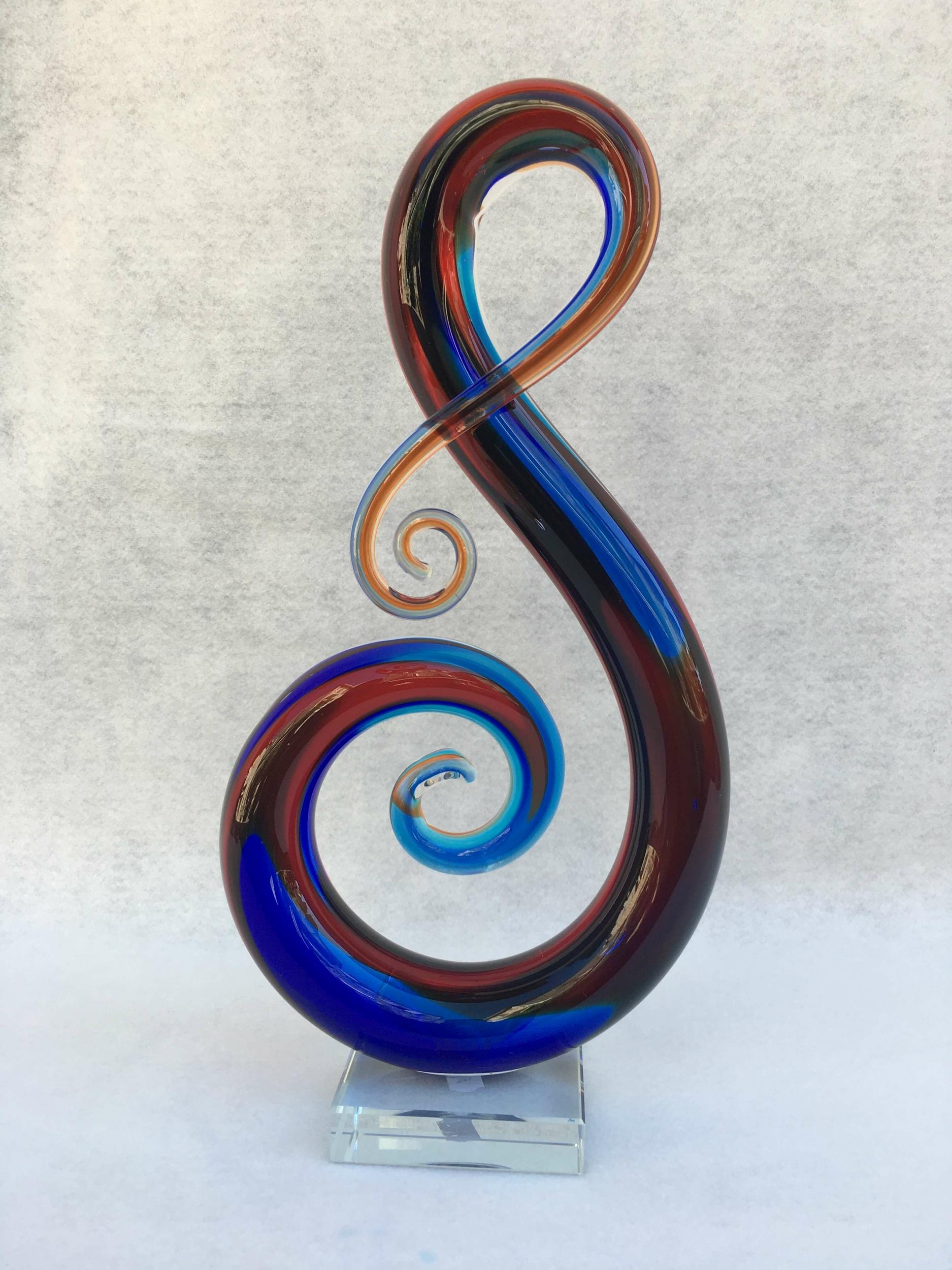 Sculpture Clé sol