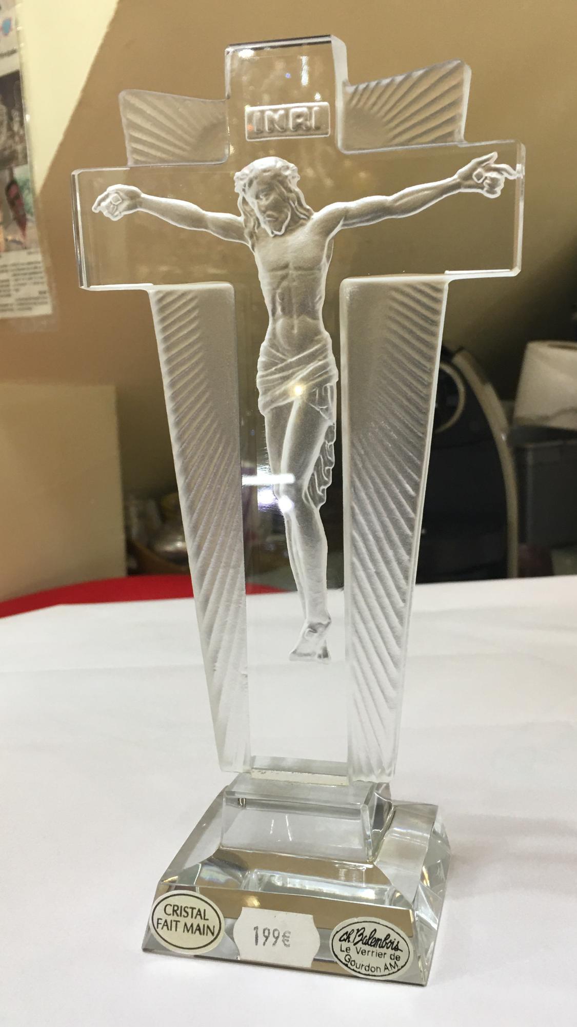 Crucifix en Cristal
