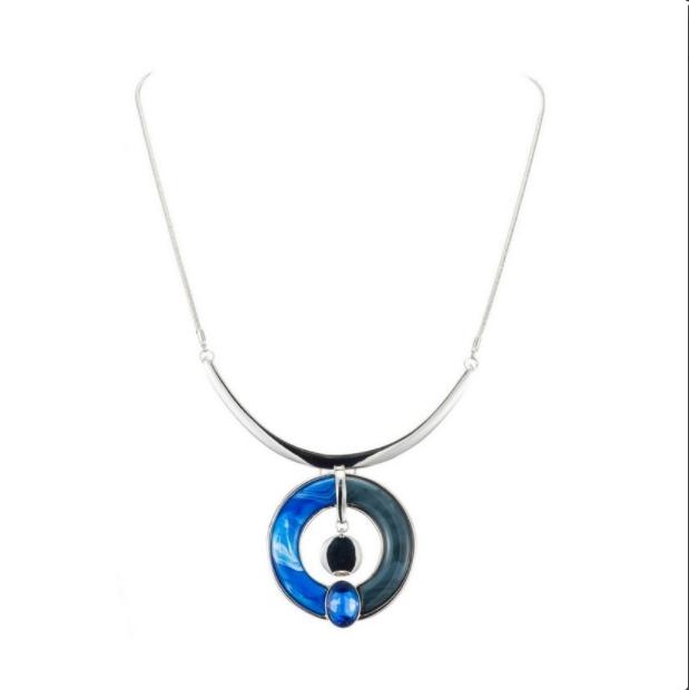 Collier resine-1901043-bleu