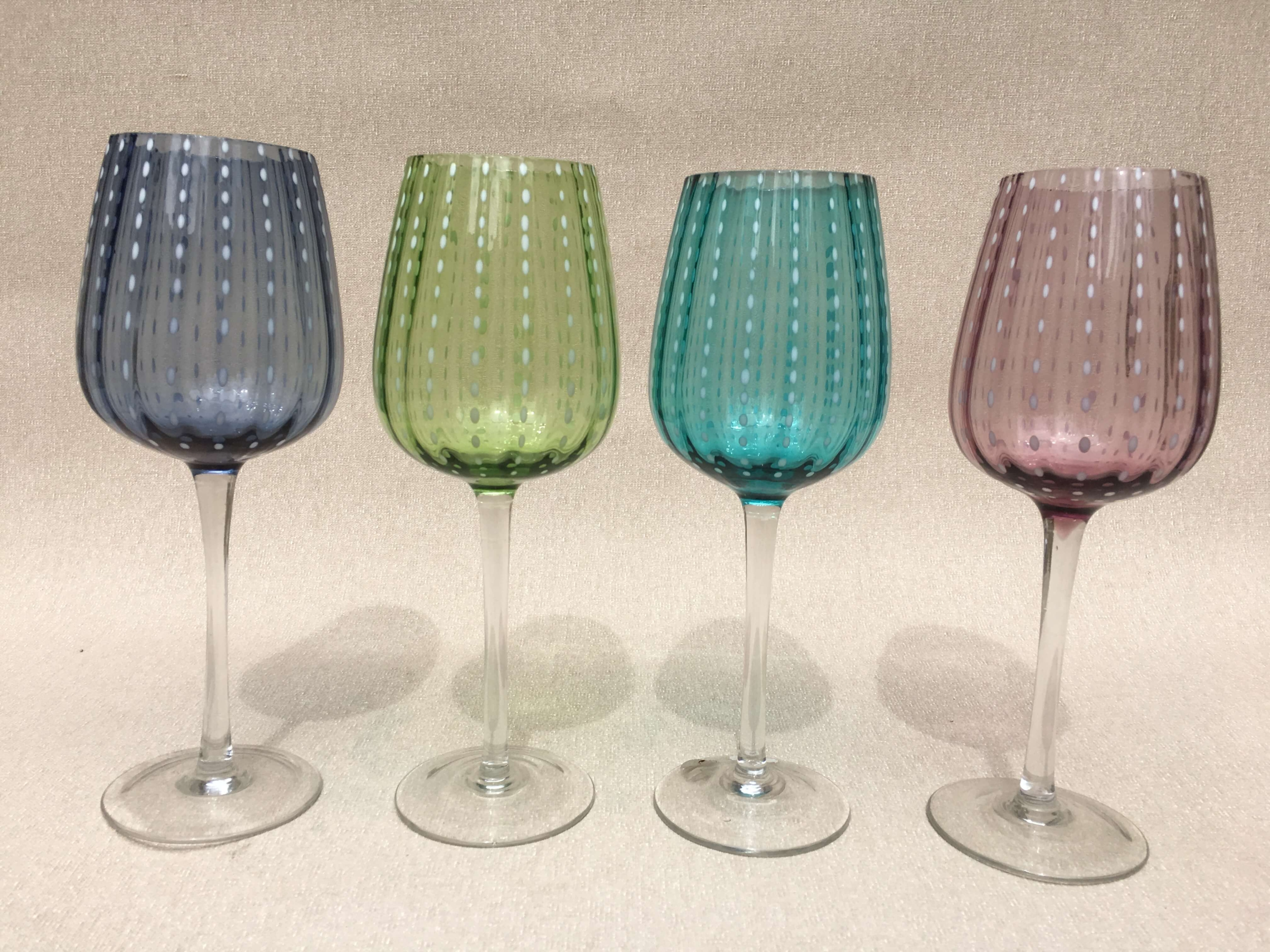 4 Verres Bouquets New York