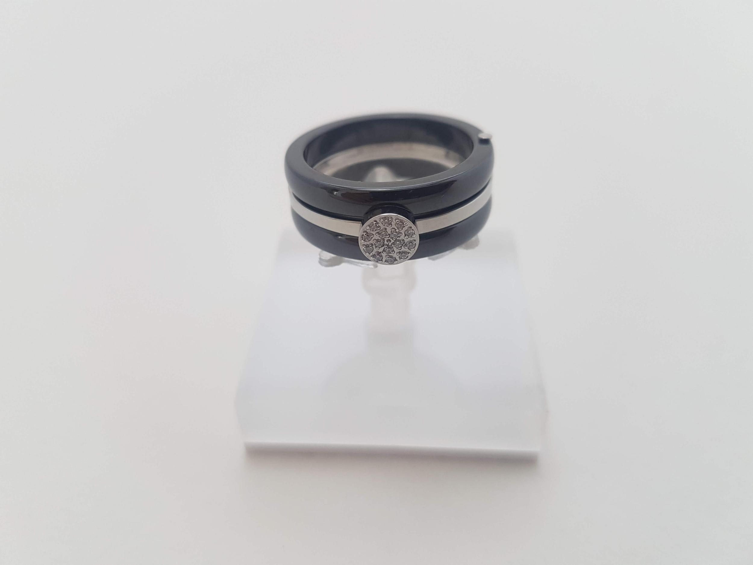 Bague en Céramique et Zirconium