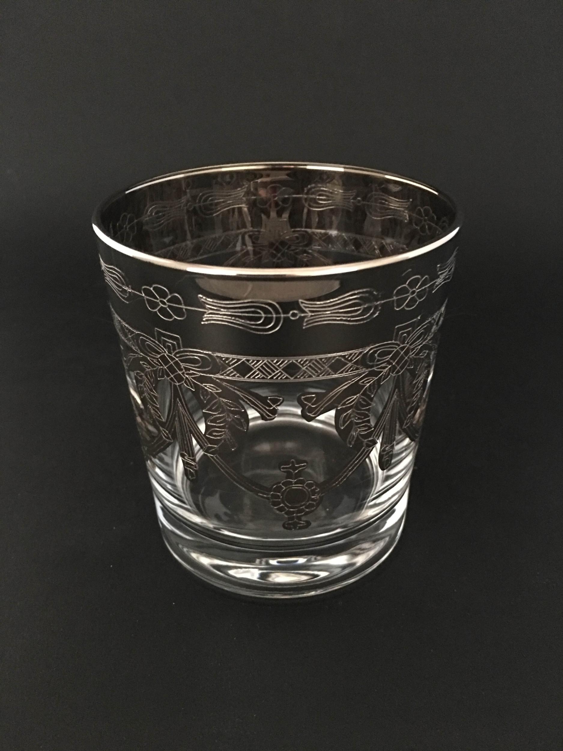 Verre à Whisky Napoléon Platine