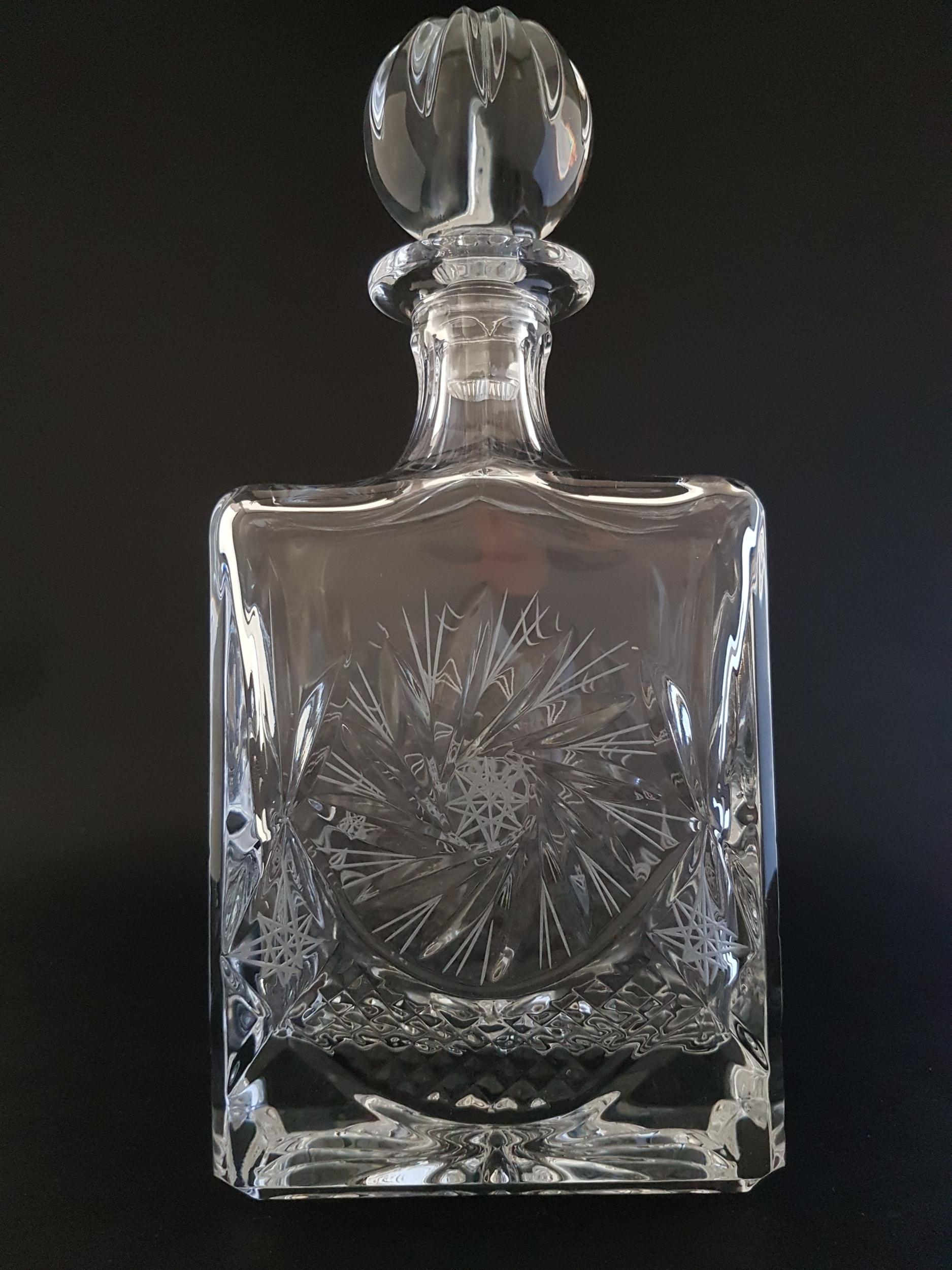 Carafe à Whisky Elégance en Cristal