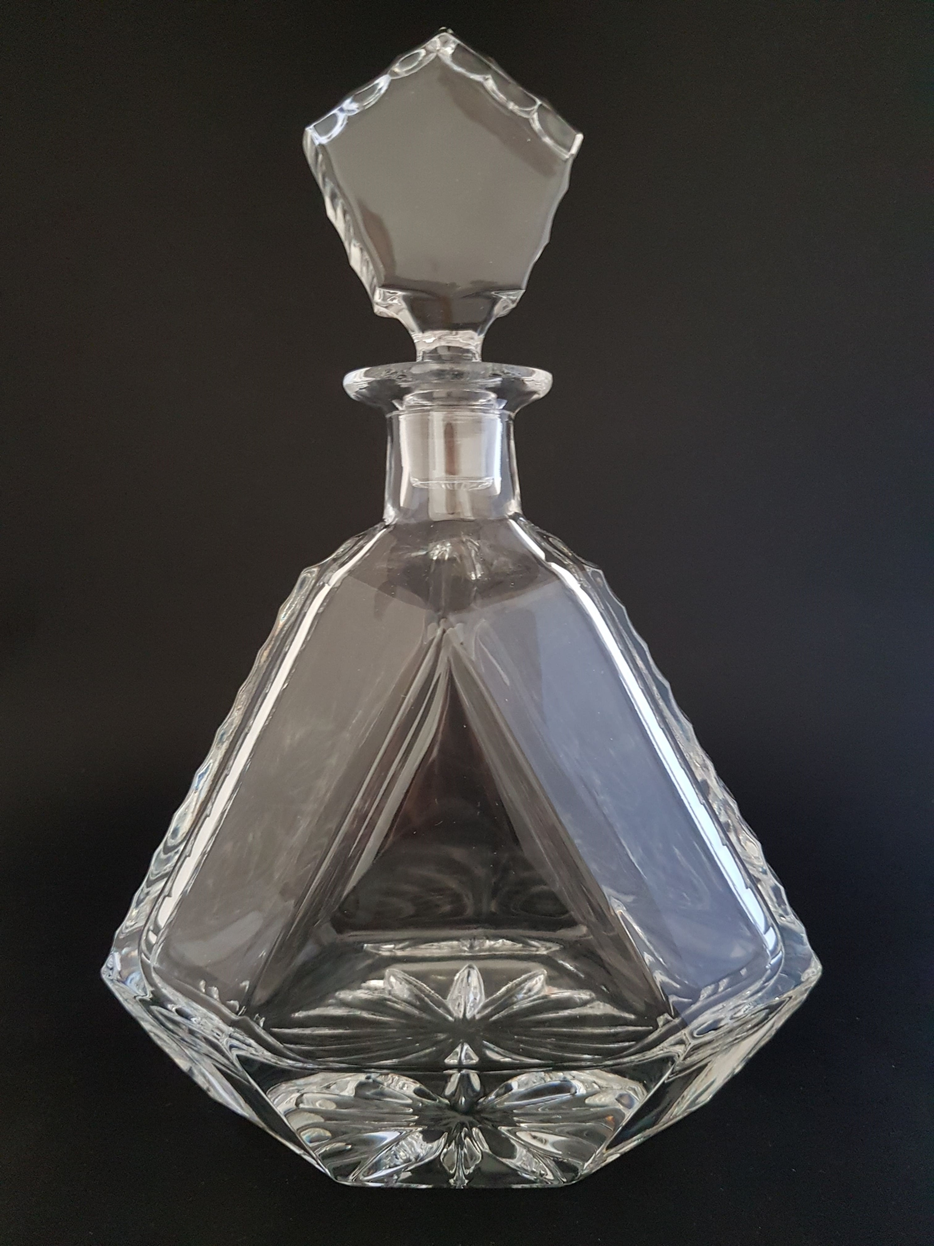 Carafe à vin Lisse en Cristal