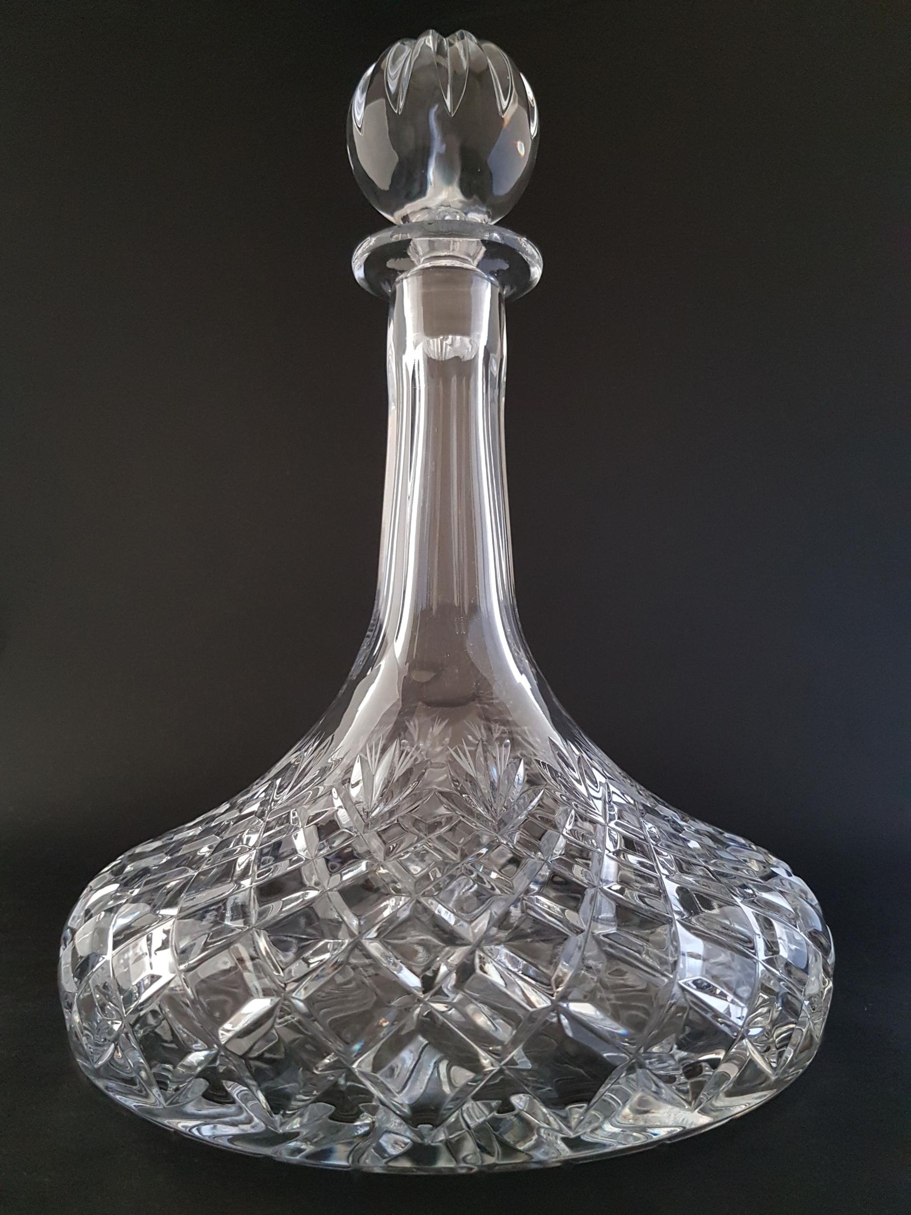 Carafe à Vin Diamant en Cristal
