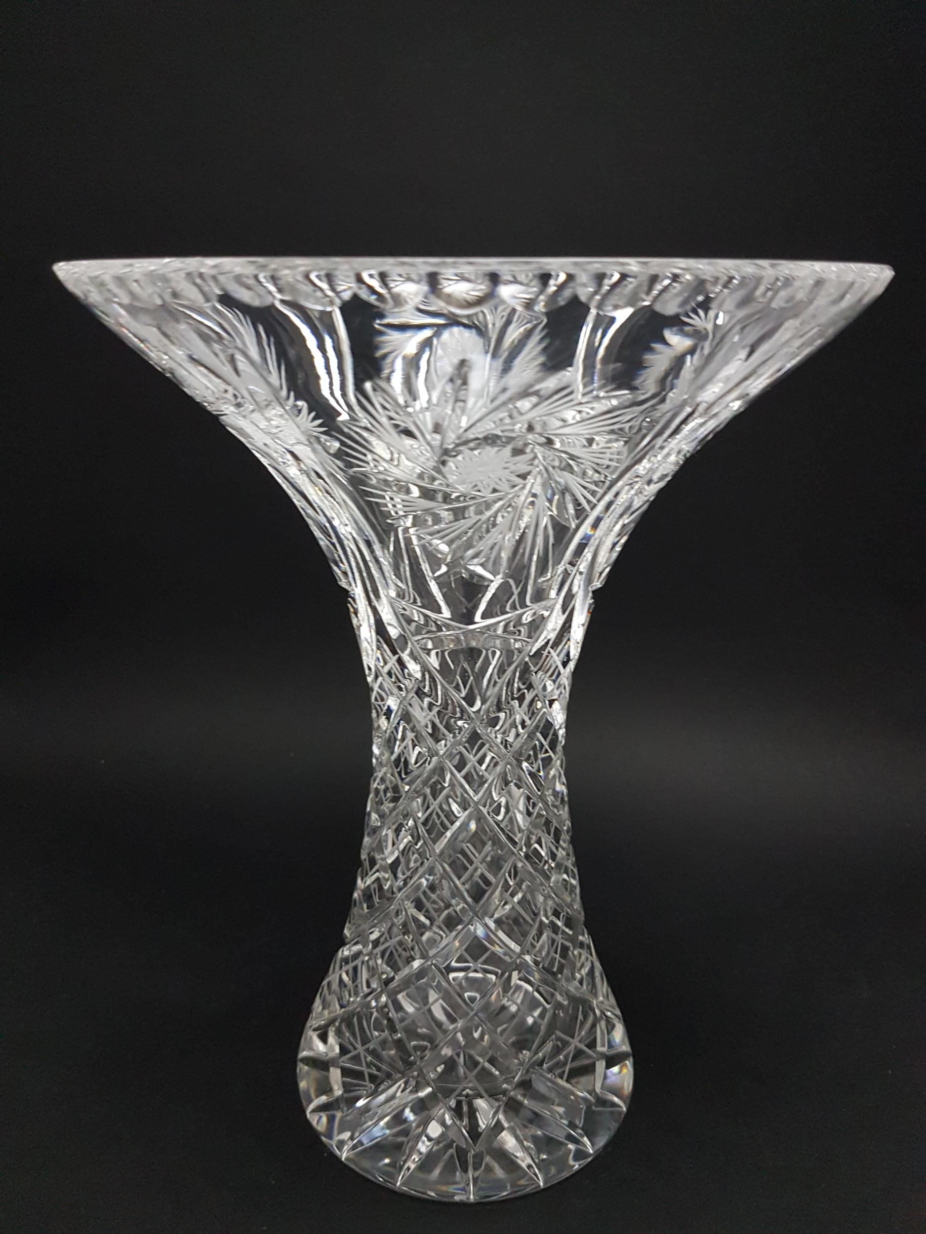 Vase en Cristal Elégance