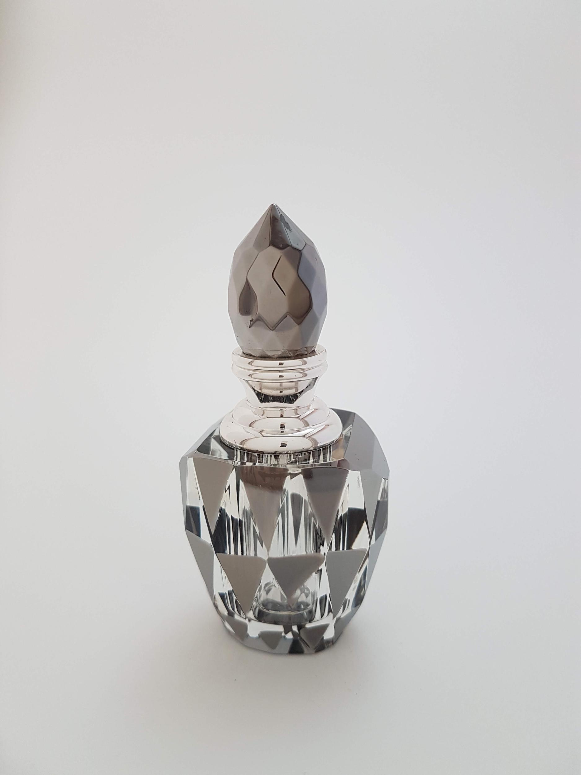 Flacon à Parfum en Cristal Hématite 3ML