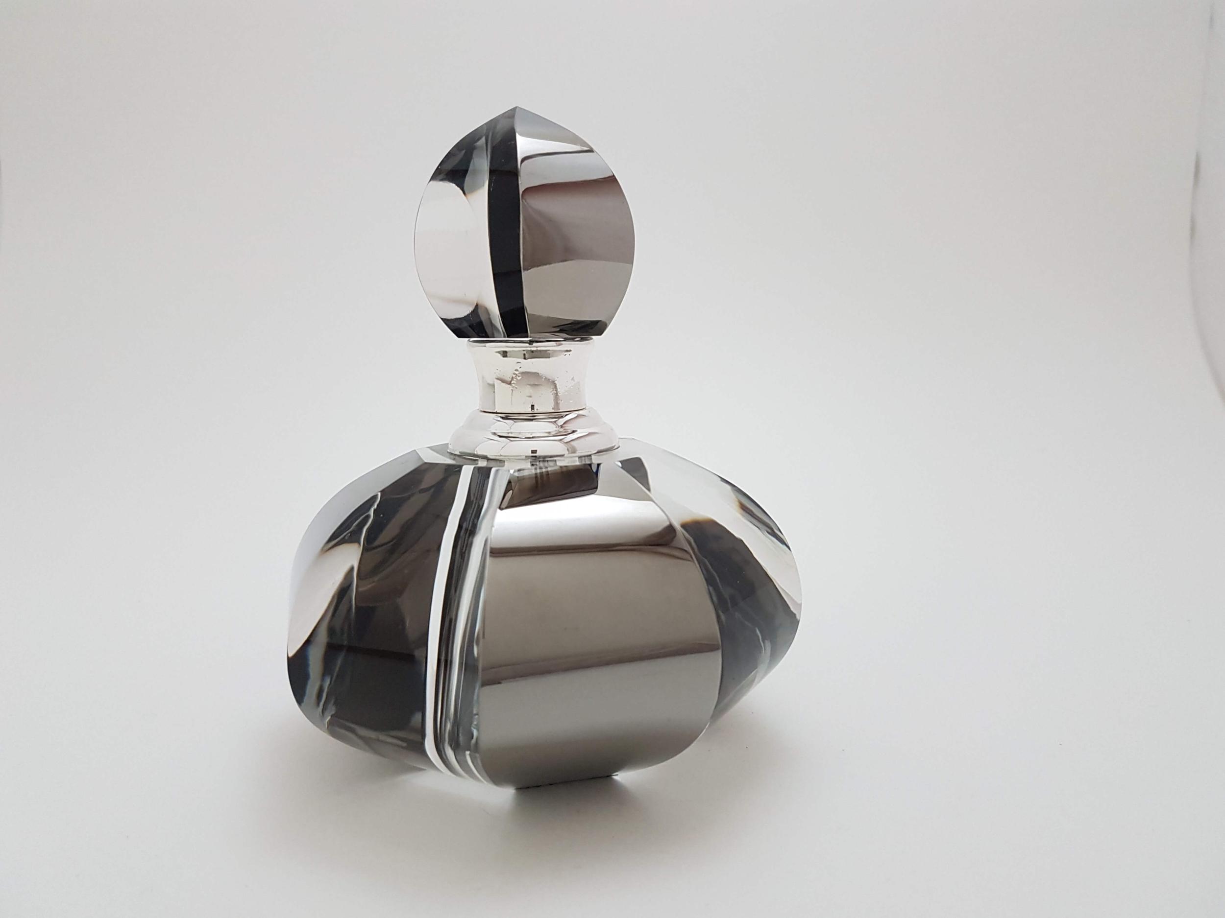 Flacon à Parfum en Cristal Hématite 6ML