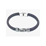 bracelet-acier-cuir-entrelace (2)