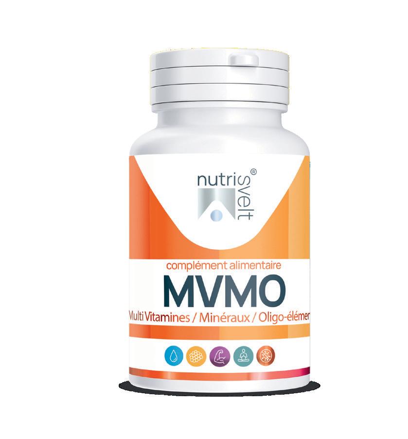 MVMO - multi vitamines, minéraux & oligo-éléments